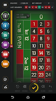 Screenshot of Live Roulette