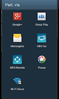 Screenshot of MEO Remote