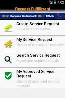 Screenshot of SMART Service Desk