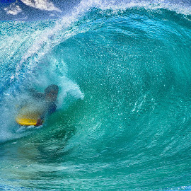 Surfer At The Wedge by Jose Matutina - Sports & Fitness Surfing ( orange county, surfer, california, newport beach, the wedge, , Travel, People, Lifestyle, Culture )
