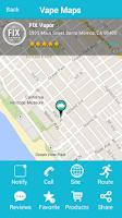 Screenshot of Vape Maps