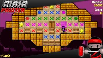 Screenshot of Ninja Painter Puzzle