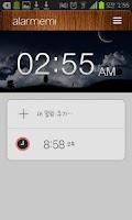 Screenshot of Alarmemi - A cicada Alarm