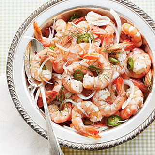 Pickled Shrimp with Fennel