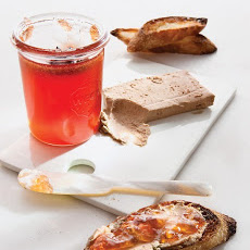 Chicken-Liver Crostini with Quince Jelly