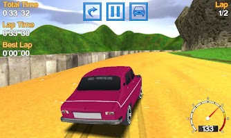 Screenshot of Romanian Racing