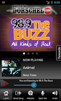 Screenshot of 98.9 The Buzz WBZA-FM