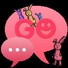 Theme Bunny for GO SMS Pro icon