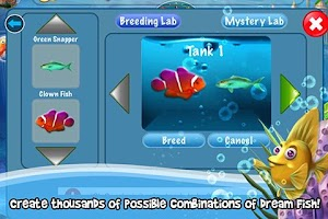 Screenshot of Dream Fish