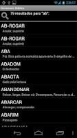 Screenshot of Dicionário Bíblico - BÍBLIA
