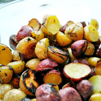 Greek Lemon Thyme Potatoes