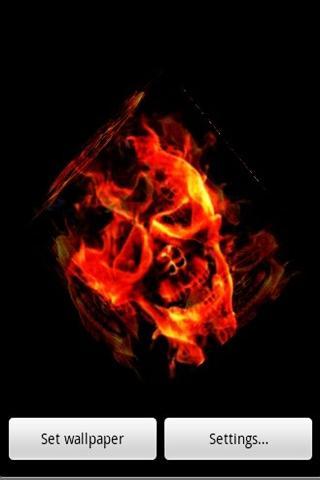 玩賽車遊戲App|3D燃燒骷髏免費|APP試玩