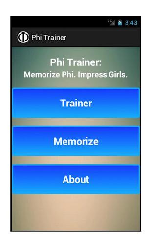 Phi Trainer
