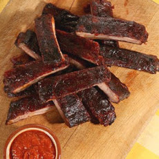 Oven-Roasted Ribs with Barbecue Sauce