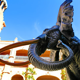 Tusker by Steve Berry - Buildings & Architecture Statues & Monuments ( lost city, statue, elephant, south africa, pilansberg,  )