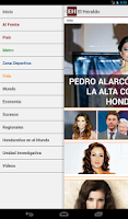 Screenshot of Diario El Heraldo Honduras