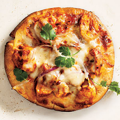 Chicken Tikka Pizzas