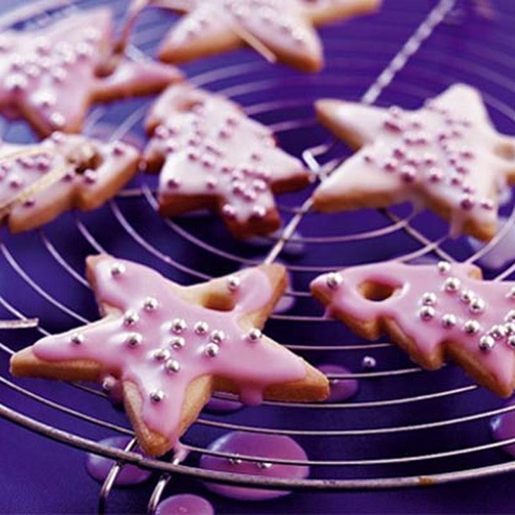 Sparkling vanilla Christmas cookies Recipe | Yummly