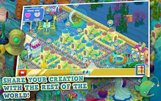 Screenshot of Aqua City: Fish Empires