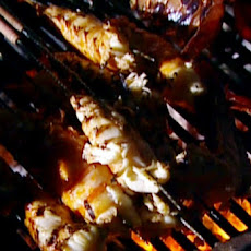 Barbecued California Spiny Lobster