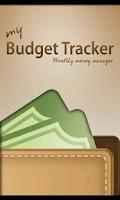 Screenshot of My Budget Tracker