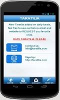 Screenshot of TARATILIA