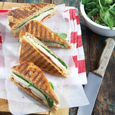 Turkey Paninis with Sun-Dried Tomatoes