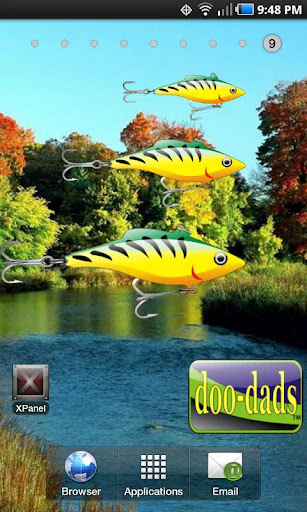 Lure doo-dad yell green
