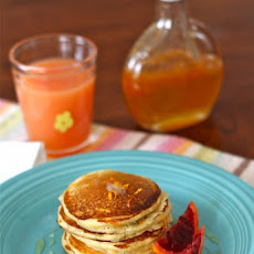 Three Favorite Pancake Recipes (Buckwheat, Cornmeal & Whole Wheat)