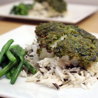 Herby Crusted Cod