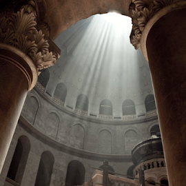 Holy Sepulchre by Yeshaya Dinerstein - Buildings & Architecture Places of Worship ( christians, jerusalem, church, holy sepulchre, holy places, holy, israel, holy land )