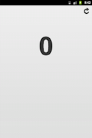 Screenshot of Android Counter