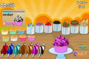 Screenshot of CupCake Rush