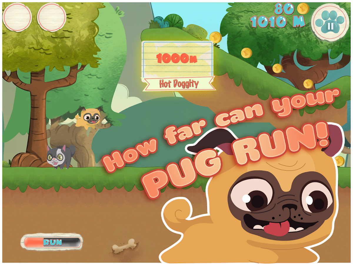 Pug Run Screenshot 4