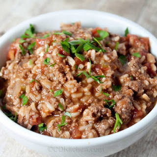 Slow Cooker Spanish Rice With Beef