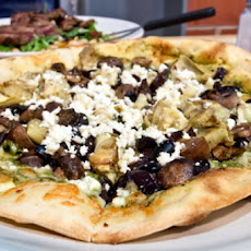 Salad Dressing Pizza