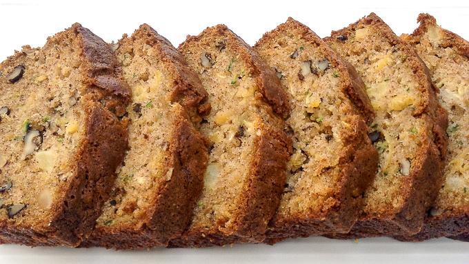Zucchini Pineapple Bread Recipe | Yummly