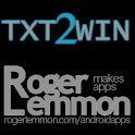 Txt2Win icon