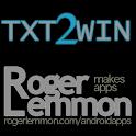 Txt2Win icon