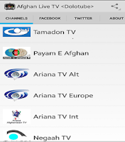 Screenshot of AfghanPlay Live tv (Dolotube)