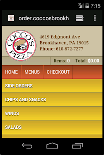 Cocco's - Brookhaven PA - screenshot