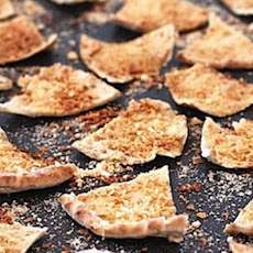 Spiced 'shake 'n' Bake' Pita Chips