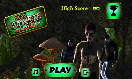 Dead Zombies Land Assault - screenshot