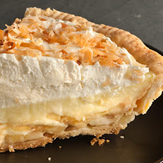 Banoconut Cream Pie Recipe