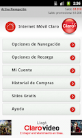 Screenshot of Mi Portal Claro