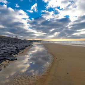 Zeeland 2 by Lieven Lema - Landscapes Beaches ( ©2014, lieven lema, zeeland )