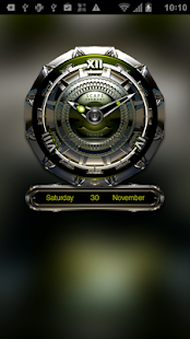 TRIADA Luxury Clock Widget - screenshot