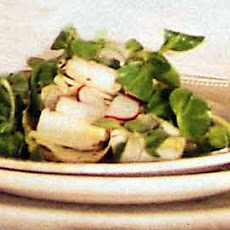Endive, Mâche, and Radish Salad with Champagne Vinaigrette