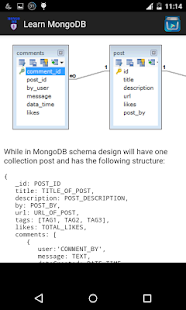 Learn mongoDB - screenshot