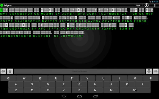Enigma - Cryptograms - screenshot